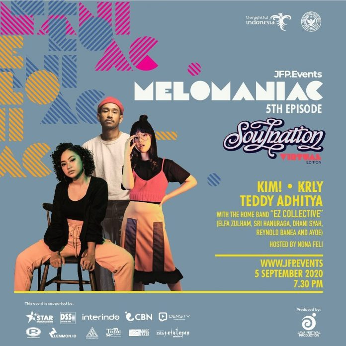 "Melomaniac 5th Dihadirkan JFP Production Bertema ""Soulnation Virtual Edition"""